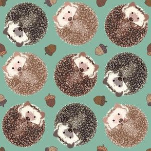 Hedgehog Scatter Moss