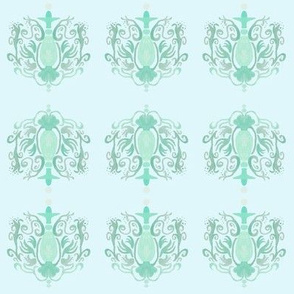 Frenchy Baby Chandelier small Blue