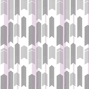 chevron stripe in lavender SMALLSCALE
