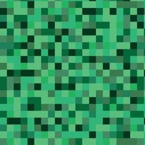 pixel squares - grass