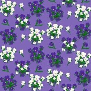 Flowers Basket Fabric 1