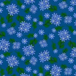 Hydrangea Flowers Fabric 2