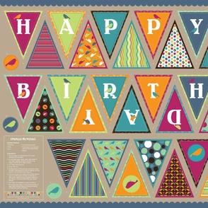 Happy Birthday Indigo Bunting