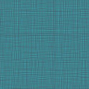 China Girl Blue Linen