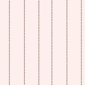 Rose White Stripes
