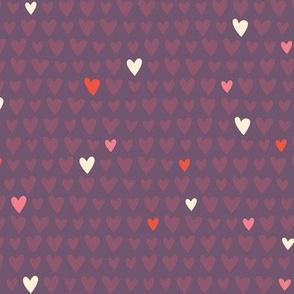 L'Amour Toujours Purple Hearts