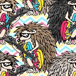 Hair-Band Hedgehogs