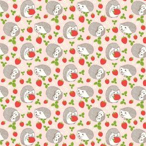 Hedgehogs & Strawberries