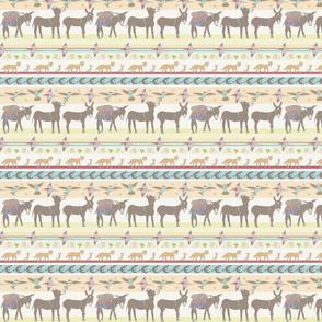 Little Burro serape stripe