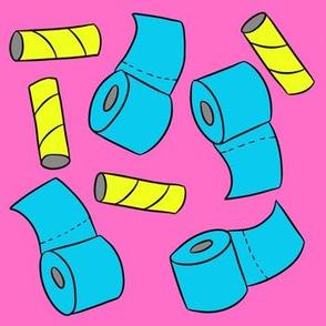 Neon Toilet Paper