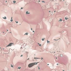 pastel bambi