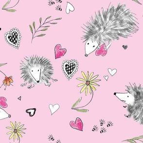 Hedgehogs In Love