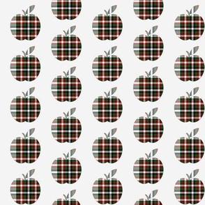 Plaid Apples