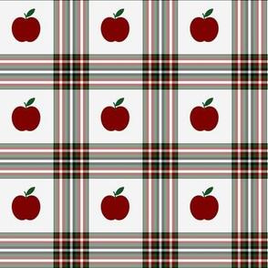 Apple plaid