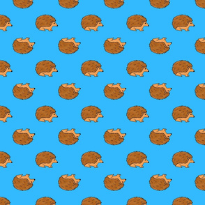Happy Hedgehog Head Over Heels