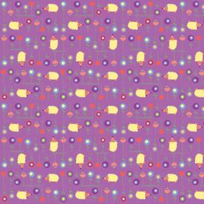 Hedgehog's Lollipop Garden