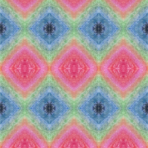Funky Rainbow Diamonds