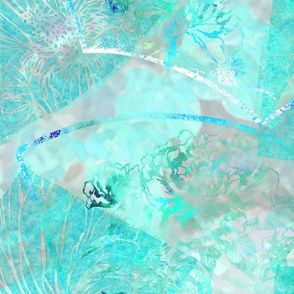 Filitsa's Garden in turquoise
