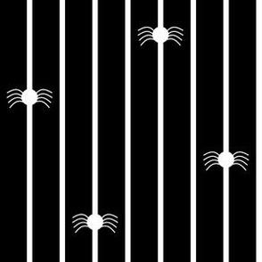Spider Stripe Black