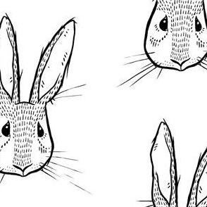 Sweet Rabbit - Black and White