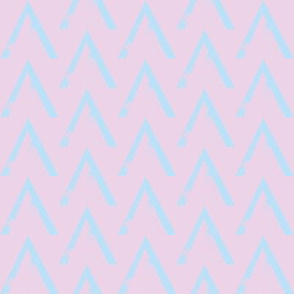 Blue Pink Baby Triangle
