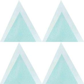 Blue triangle large