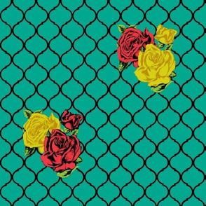 rose lattice