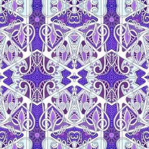 Winter Comes to Purple