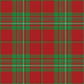 "Scott clan tartan from 1842, 9"""