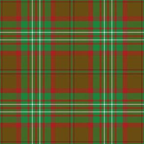 """Scott clan hunting tartan, 9"""""""