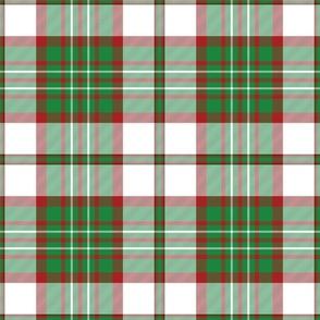 """Scott clan dress tartan, 9"""""""