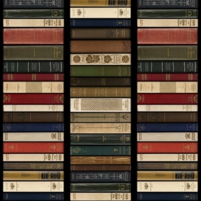 Madame Fancypantaloons' Instant Library Bindings Contrariwise