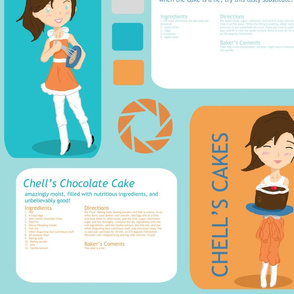 Portal Baby - Chell's Cakes