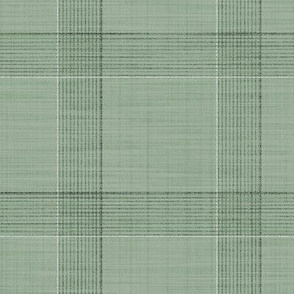 Glen Plaid Relaxed  ~ Sage