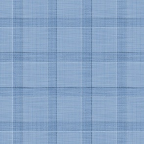 Glen Plaid Relaxed ~ Blue