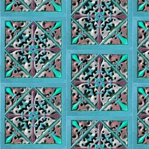 Early Victorian Tile ~ Portofino