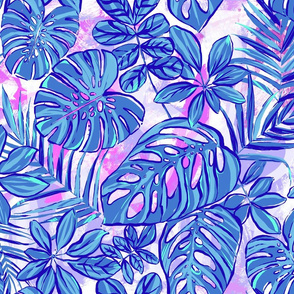 Rain Forest - Periwinkle