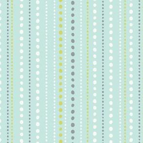 Spring Tea Garden Aqua Dots