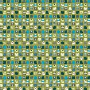 Tiny Knitwear BlueGreen (custom size)