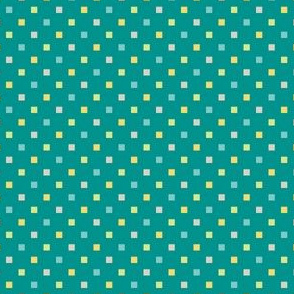 Mini Squares Teal (Elementary)