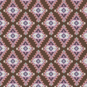 Tribal Ikat Dusted