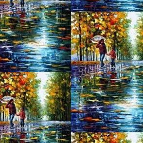 A Stroll in An Autumn Park