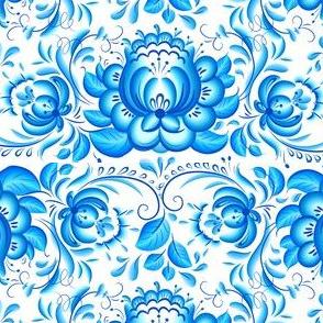 Gzhel pattern
