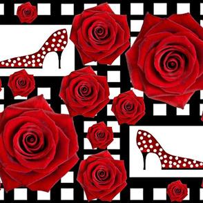 Ooh la la! Red rose