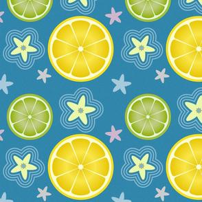 Lemon Simple Blue
