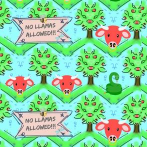 No Llamas Allowed Large