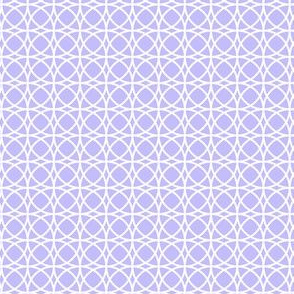 circles white on lilac