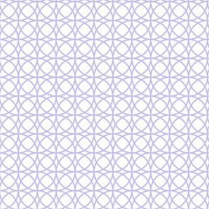 circles lilac on white