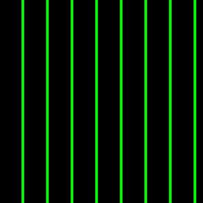 Green Pinstripes