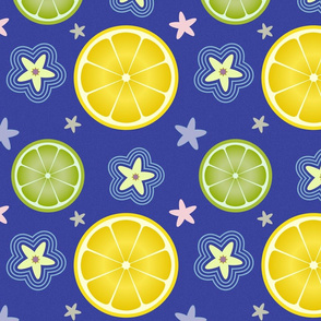 Lemon Simple: Royal Blue